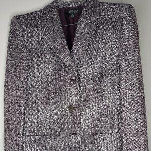 Kasper Womens Purple 2 Piece Suit NWT Size 18
